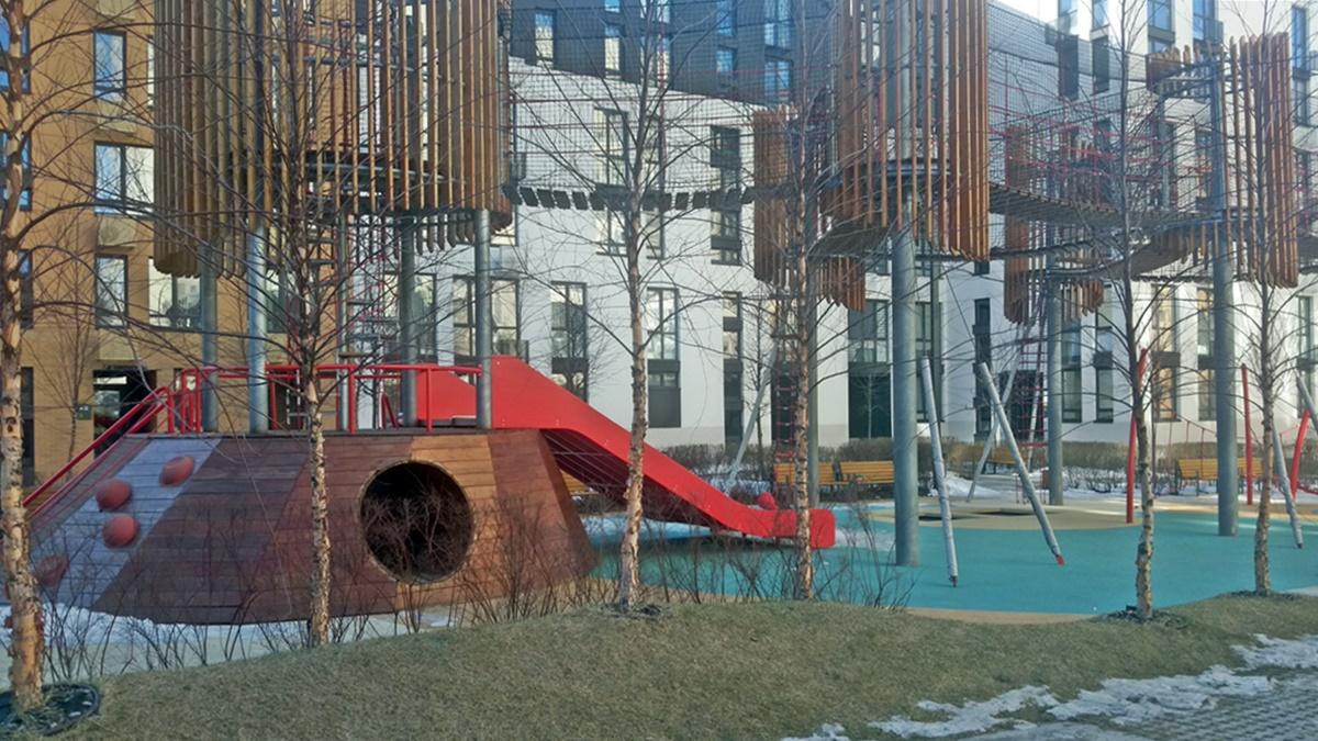 ЖК Файна Таун детская площадка