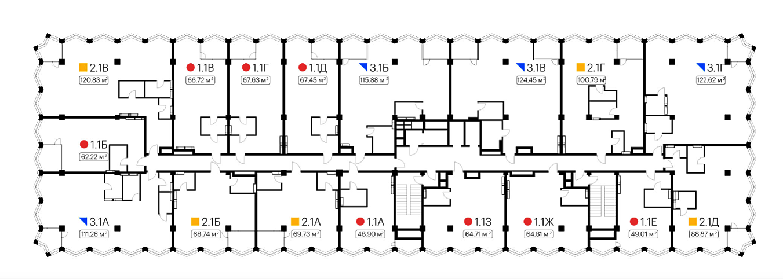 Киевпроект Сити Спейс план этажа