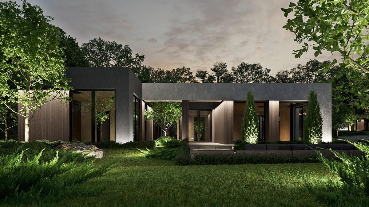 КГ Зе Хиллс ландшафтный дизайн