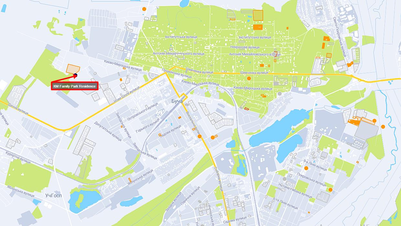 КГ Фемили Парк Резиденс на карте