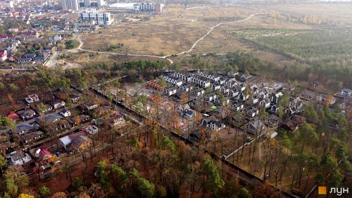 КГ Фемили Парк Резиденс территория будущего строительства