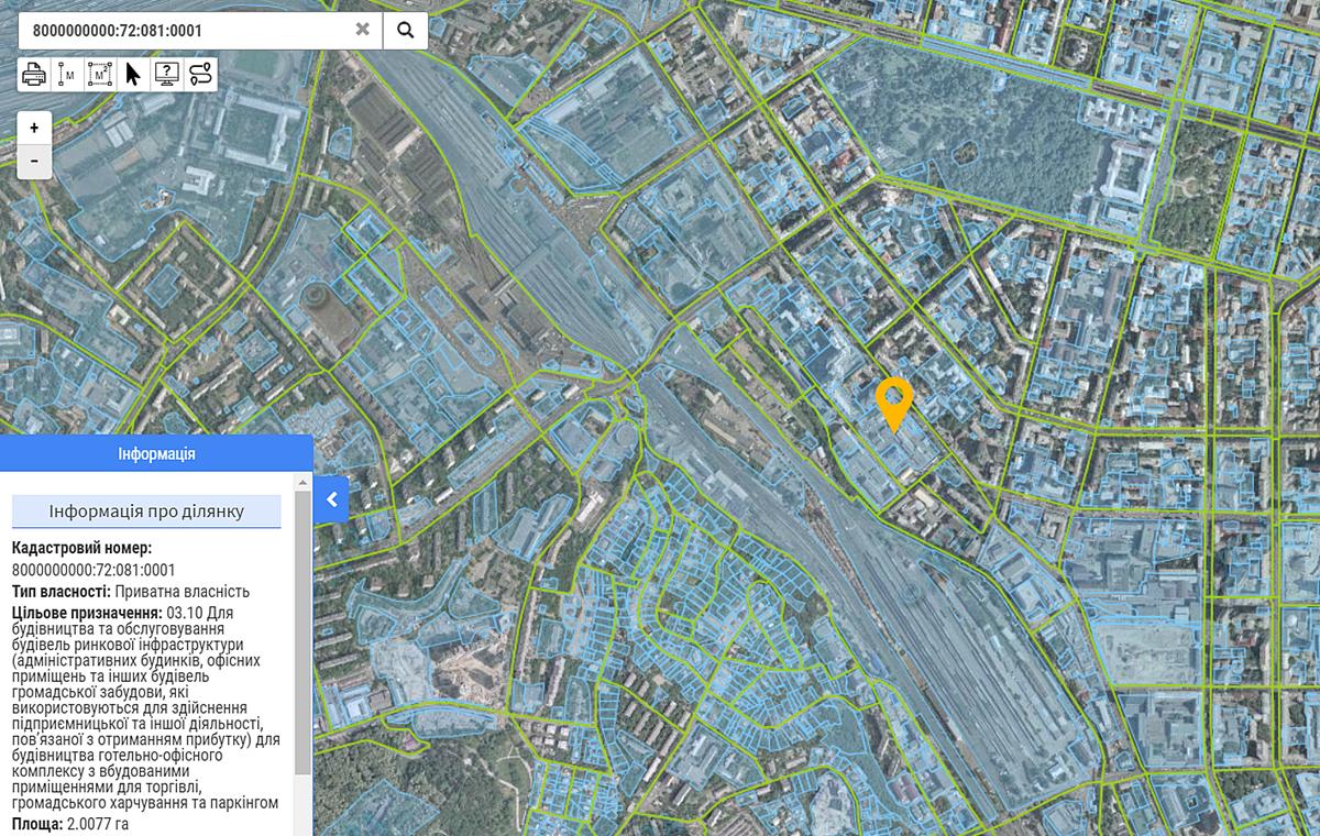 Новый проект по ул. Жилянская, 47 данные кадастра