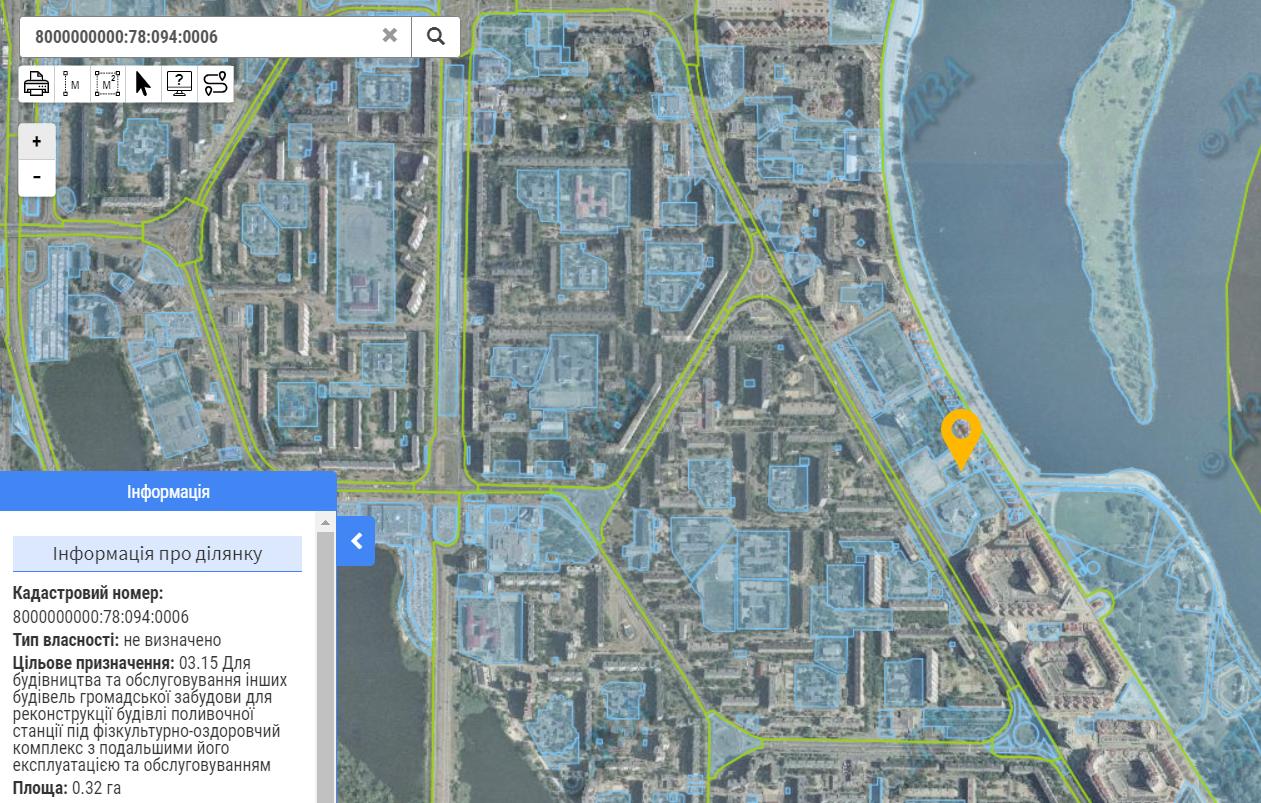 Проект на пр. Героев Сталинграда, 8а данные кадастра