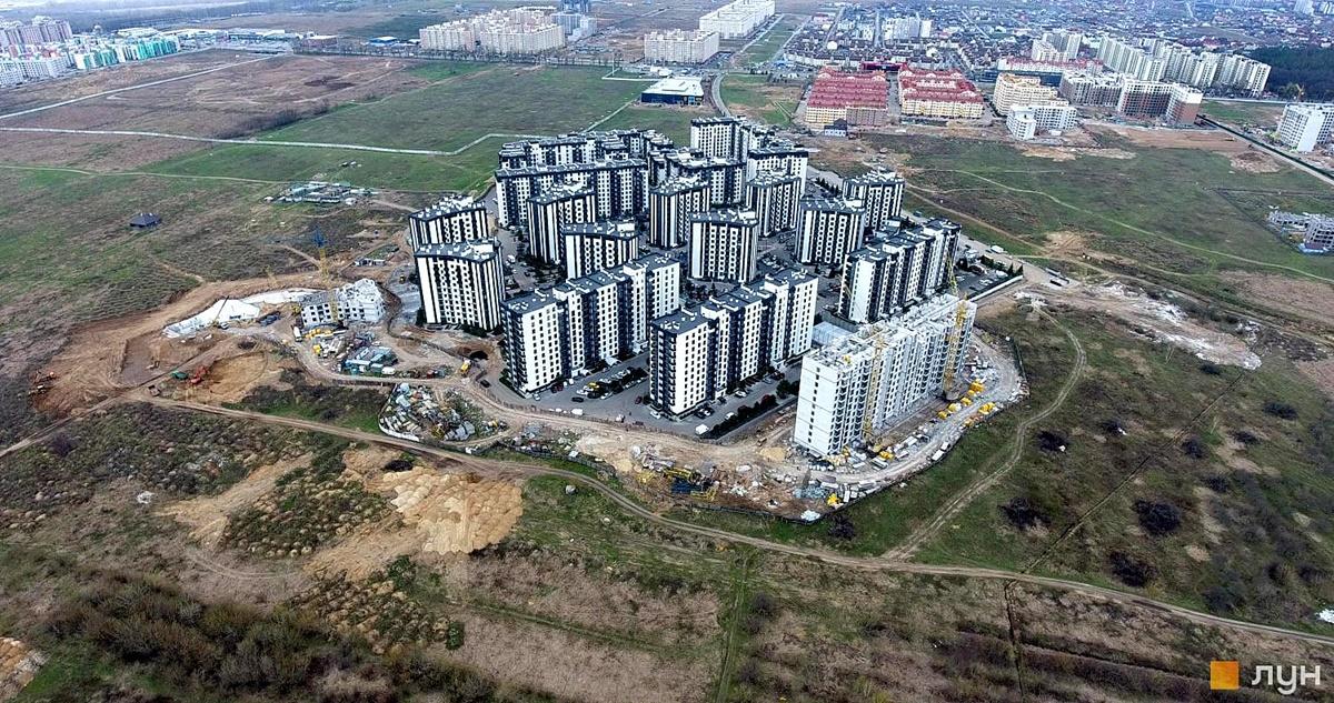 ЖК Уютный квартал аэрооблет