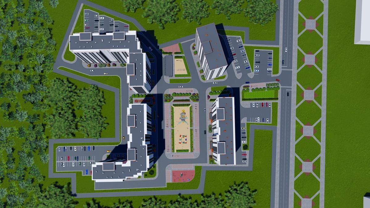 ЖК Navigator-2 генеральный план