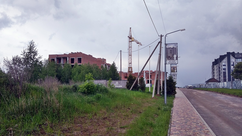 ЖК Art Misto дорога к комплексу