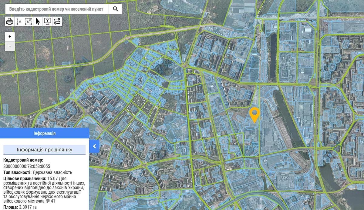 ЖК Navigator-2 данные кадастра