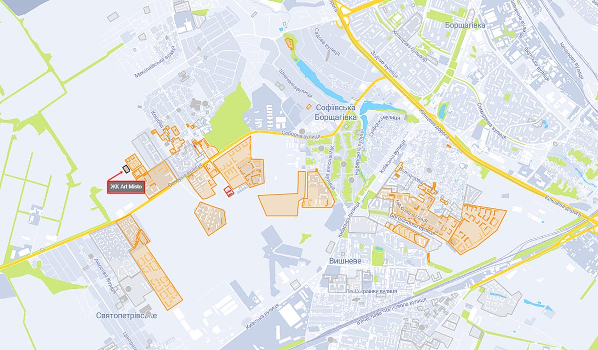 ЖК Арт Мисто на карте