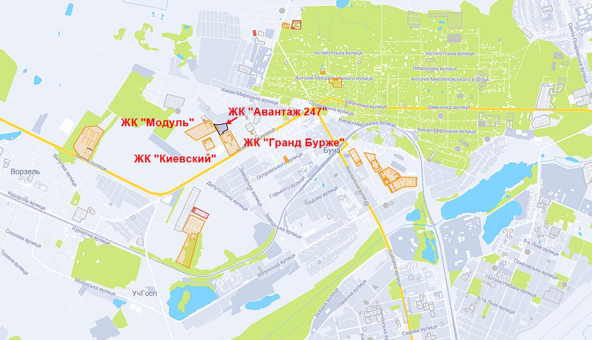 ЖК Авантаж 247 на карте