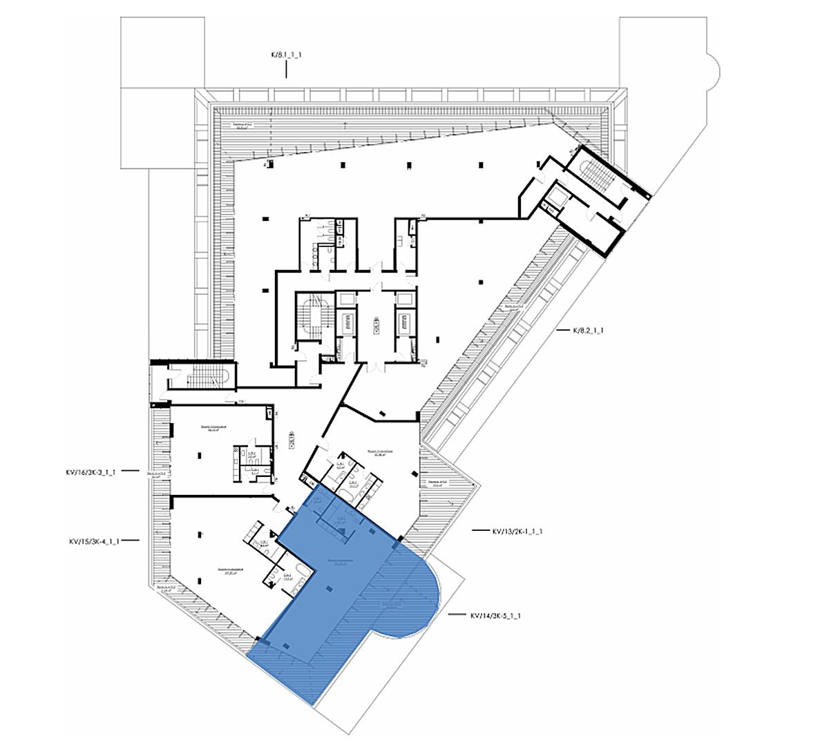 ЖК ANDRIYIVSKY City Space поэтажный план