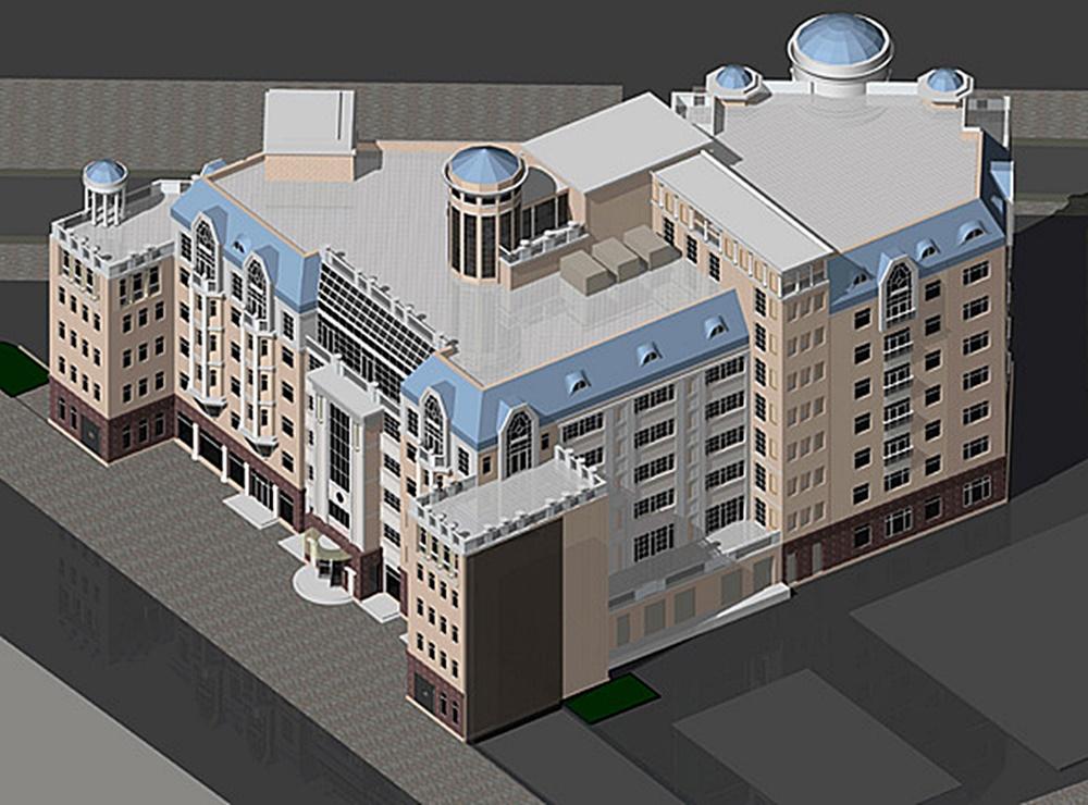 ЖК Андреевский Сити Спейс старый проект