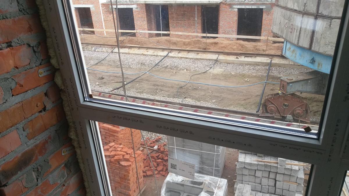 ЖК Арт Мисто вид из окна