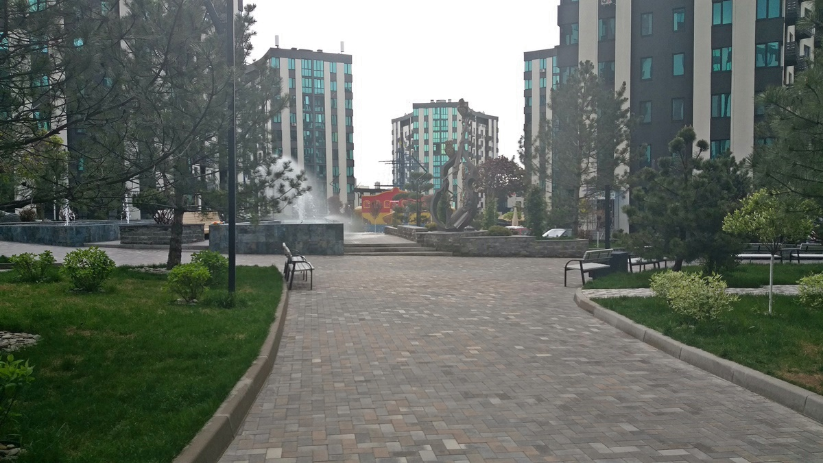 ЖК Уютный квартал зона отдыха