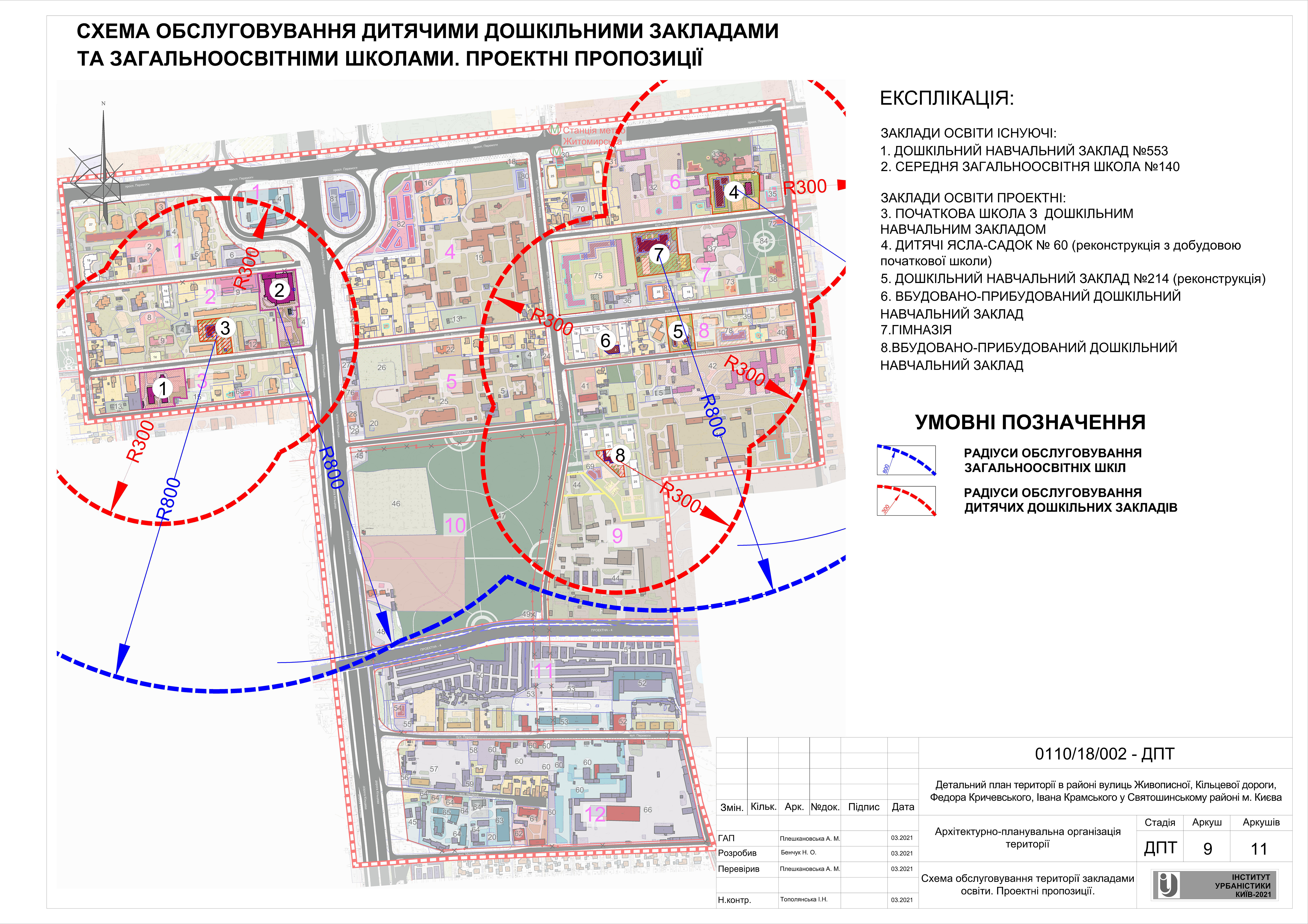 ДПТ микрорайон Святошино школы