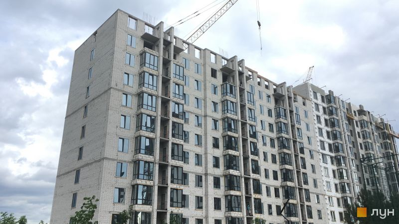 ЖК Уютный квартал ход строительства дома 28