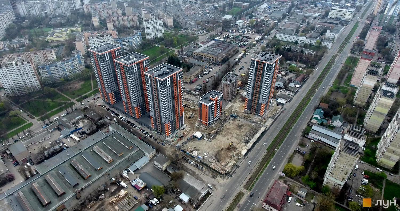 ЖК Бережанский ход строительства
