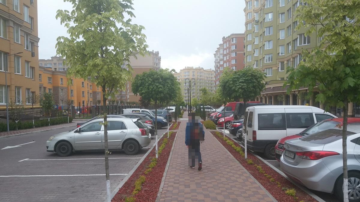 ЖК София Клубный паркинг