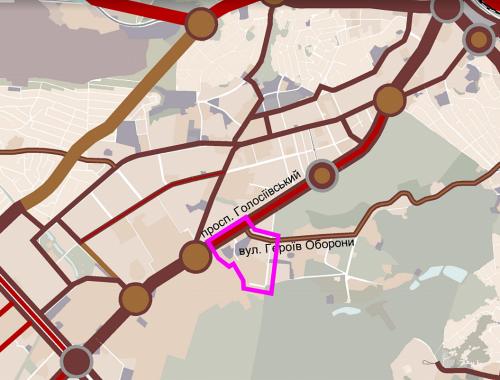 Детальный план территории между ул. Потехина и ул. Героев Обороны территория