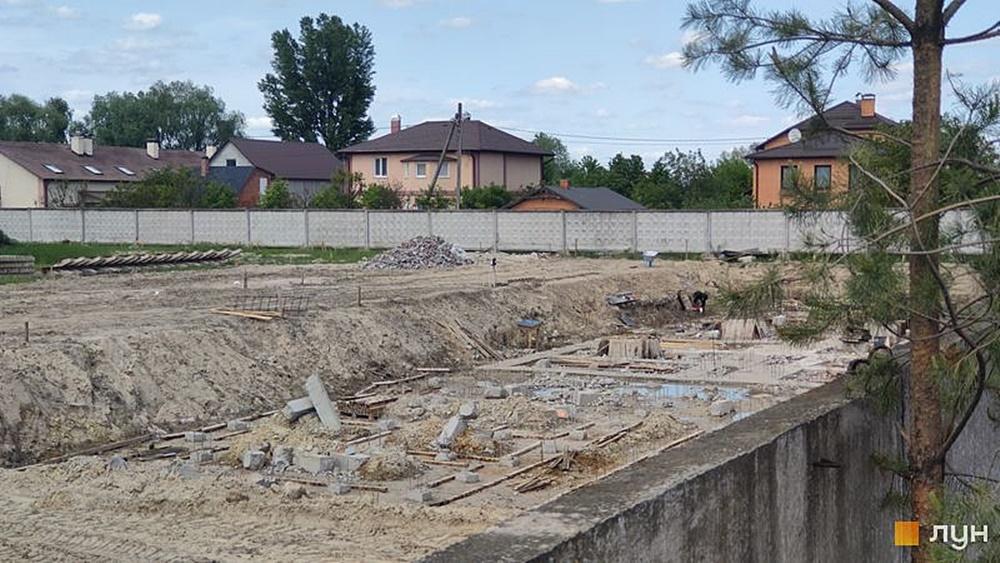 Жилой комплекс Greendom ход строительства