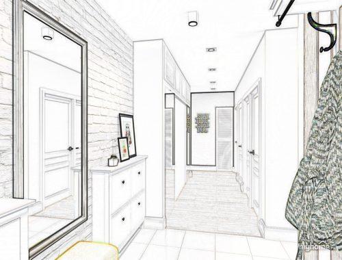 Дизайн интерьера: работаем с узким пространством