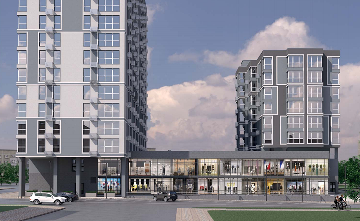 ЖК Урбанист визуализация фасадов