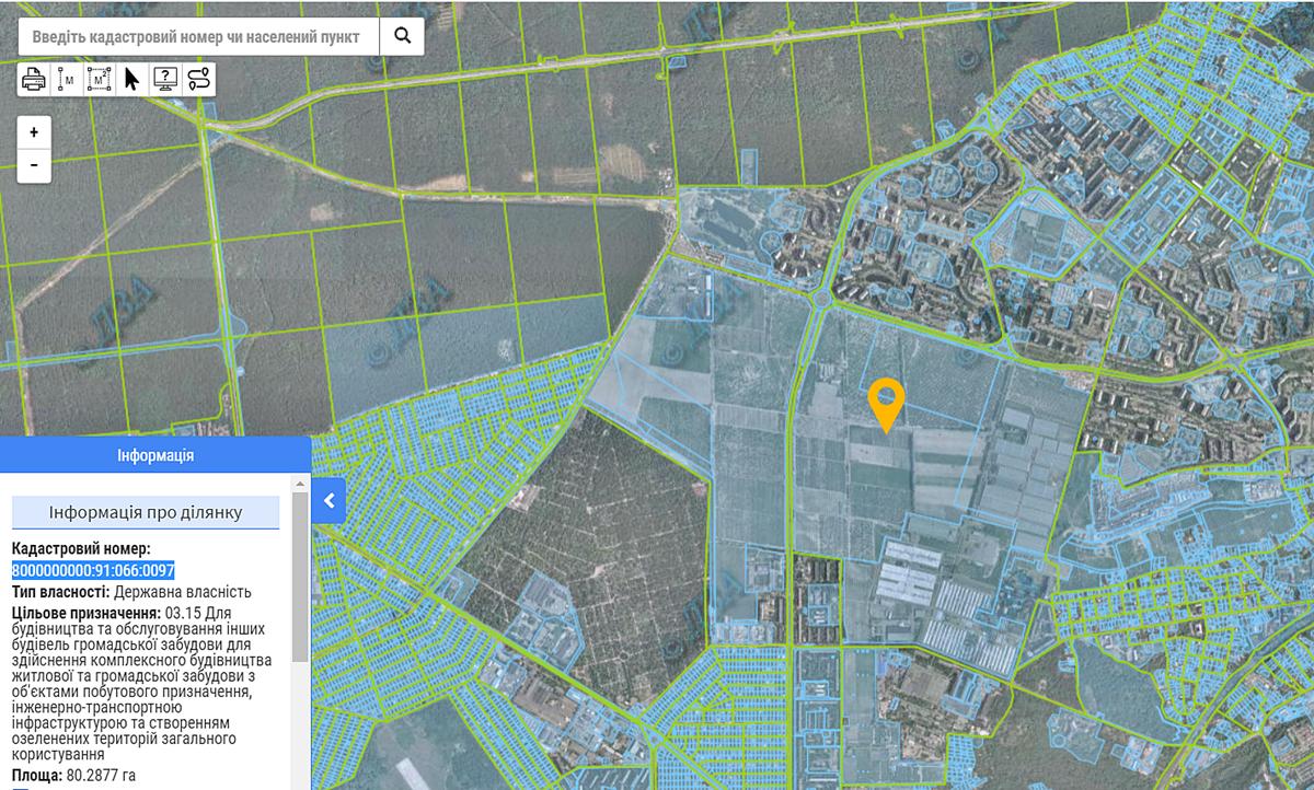 ЖК 7 Квартал данные кадастра