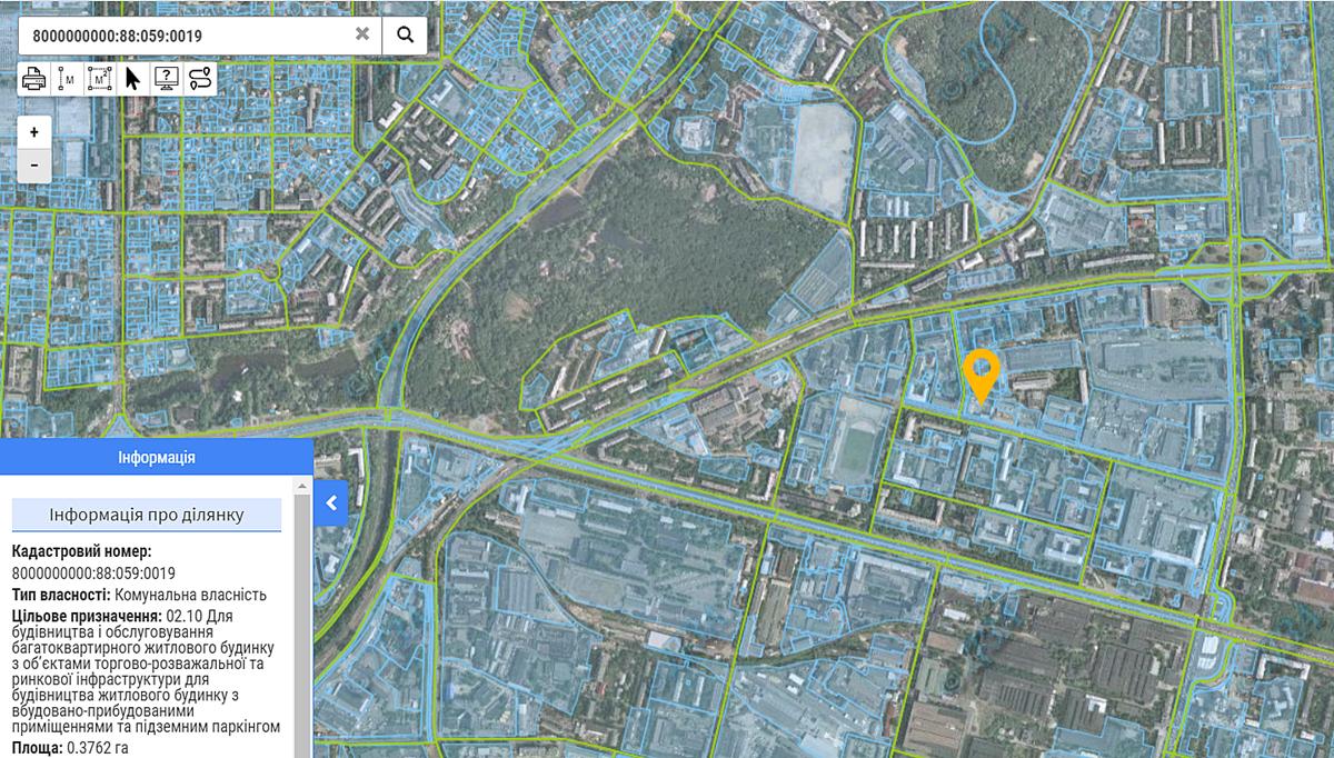 ЖК Урбанист данные кадастра