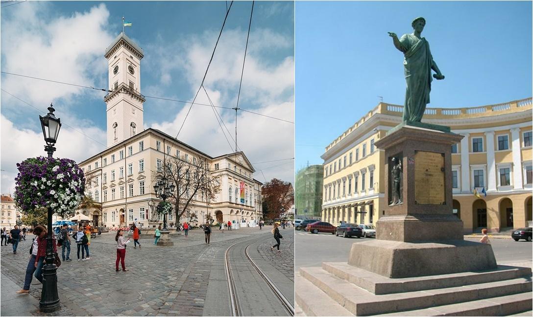Недвижимость Одессы и Львова