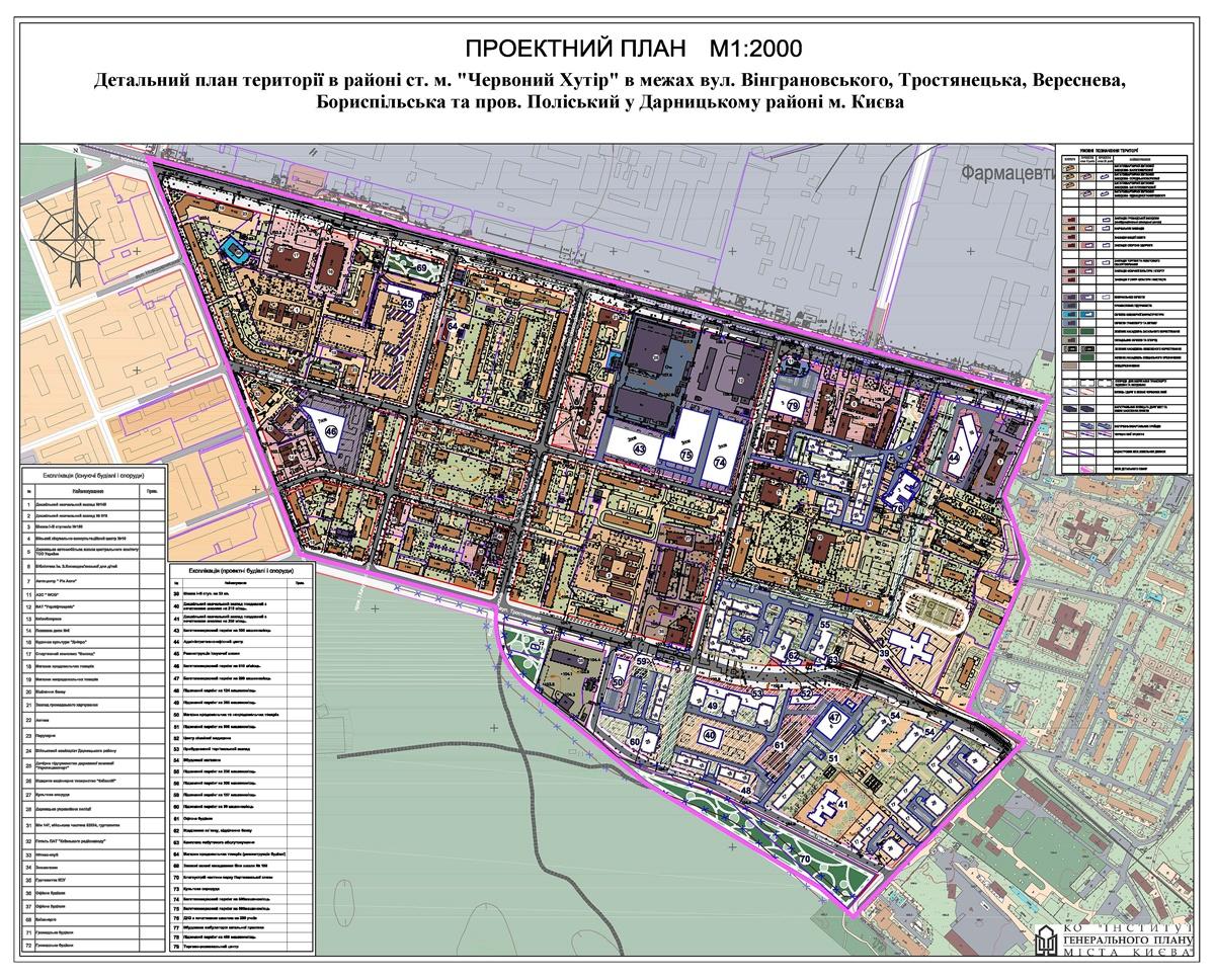 ДПТ Красного Хутора проектный план территории