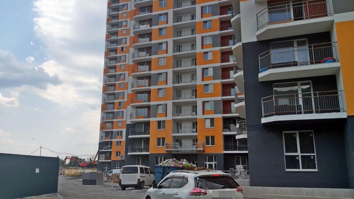 ЖК Orange City придомовая территория