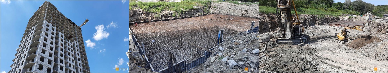 ЖК Оранж Сити ход строительства домов 2, 3 и 6