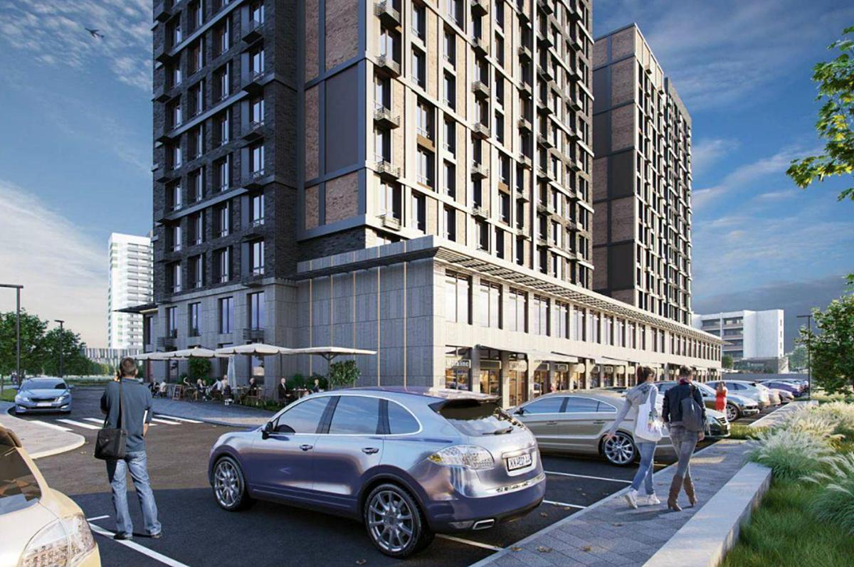 ЖК Сенат коммерция и парковки