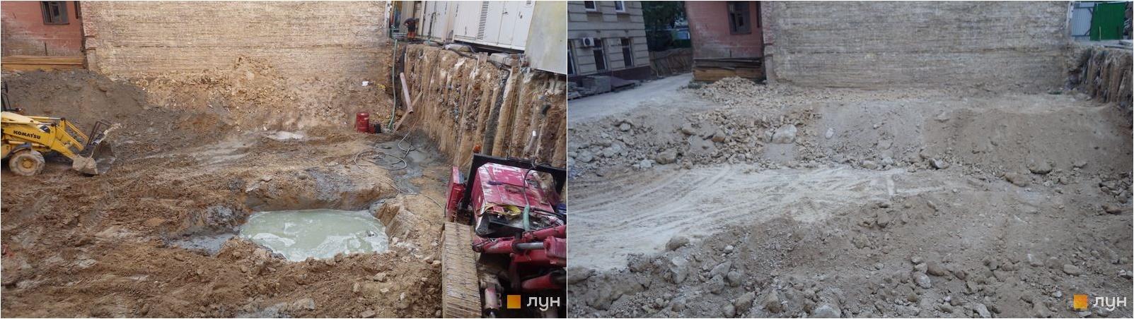 Доходный дом Тургеневская, 17 ход строительства