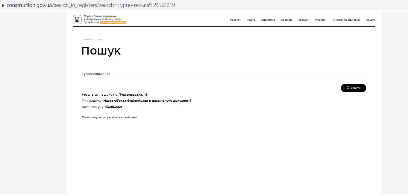 Апартаменты на Тургеневской, 17 разрешительные документы