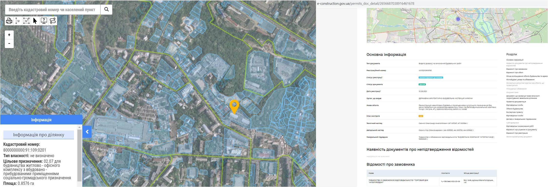 Проект реконструкции по ул. Нагорная, 47 данные кадастра и Разрешение в реестре