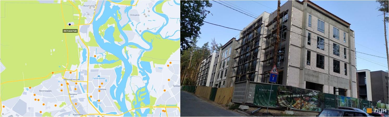 ЖК Форест Парк на карте и ход строительства