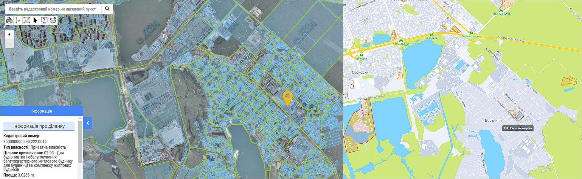 ЖК Привитный квартал новая очередь данные кадастра и на карте