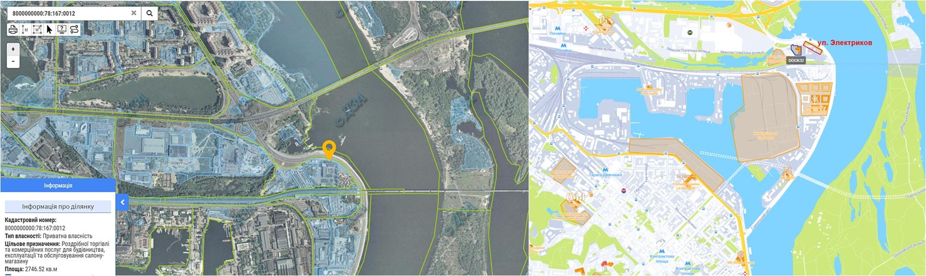 Строительство многофункционального комплекса по ул. Электриков данные кадастра и на карте