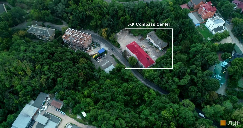 ЖК Compass Center вид на стройплощадку аэрооблет