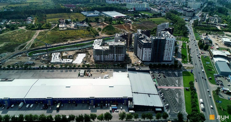 ЖК Парадайз Авеню ход строительства аэрооблет