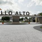 КГ Палло Альто визуализация въезда на территорию