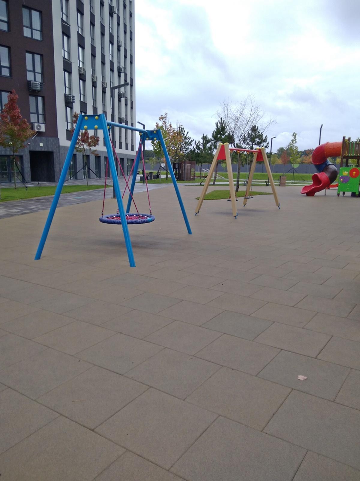 ЖК Парадис Авеню детская площадка