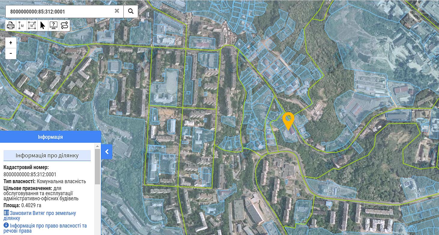 ЖК Compass Center данные кадастра