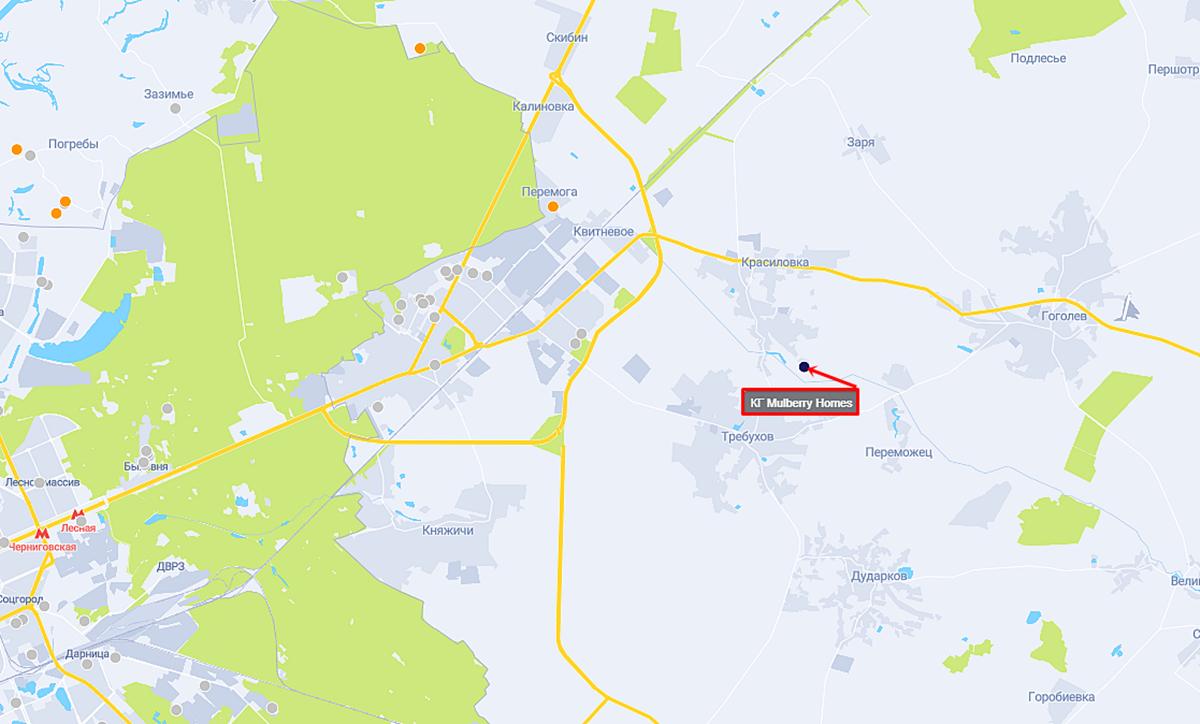 КГ Mulberry Homes на карте