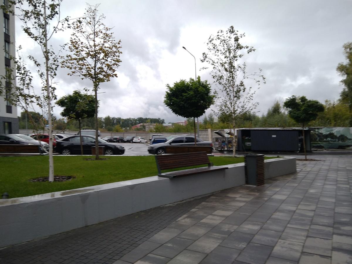 ЖК Парадиз Авеню парковка