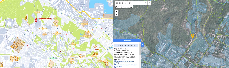 Будущий ЖК по улице Ромоданова, 17Б данные кадастра и на карте